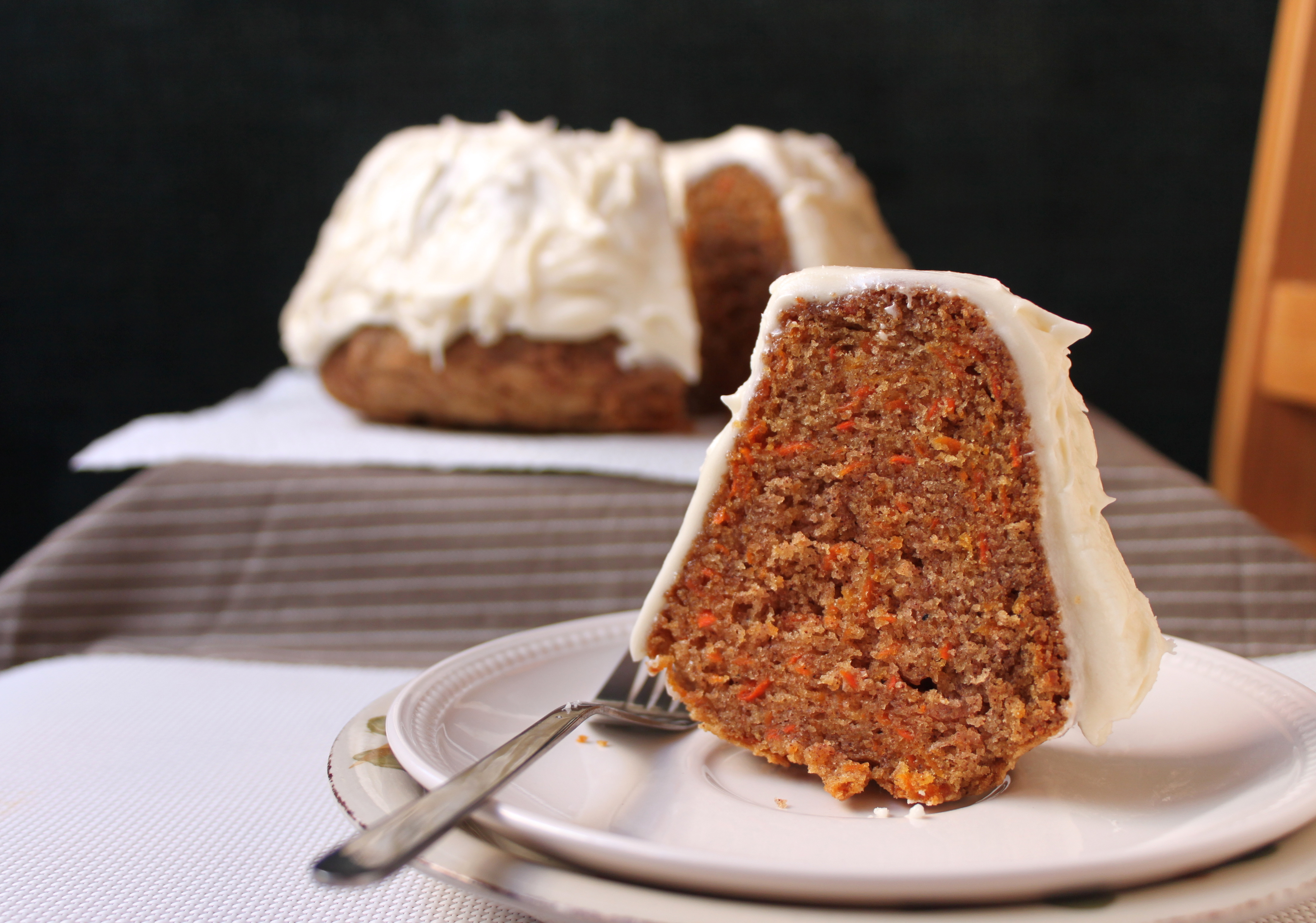 Microwavable Carrot Cake